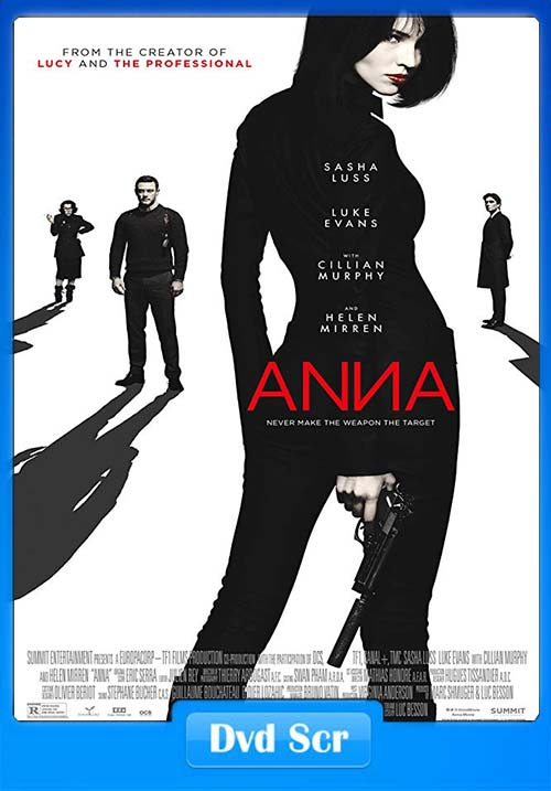 Anna 2019 English 720p HQ DVDScr x264 | 480p 300MB | 100MB HEVC