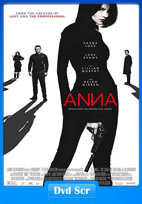 Anna 2019 English 720p HQ DVDScr x264   480p 300MB   100MB HEVC Poster