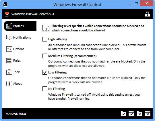 Windows Firewall Control 4.7.5.0 Final Full