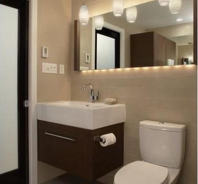 Ba os modernos diciembre 2012 for Muebles de bano modernos pequenos
