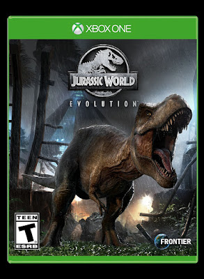 Jurassic World Evolution Game Cover Xbox One