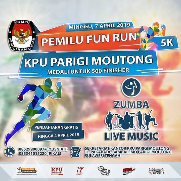 Pemilu Fun Run - Parigi Moutong • 2019