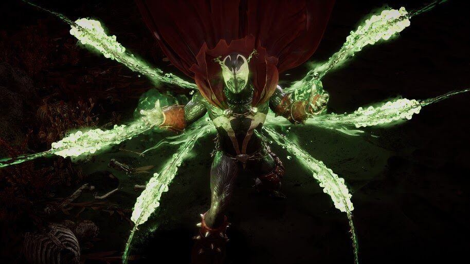 Spawn, Chains, Mortal Kombat 11, 4K, #7.1439