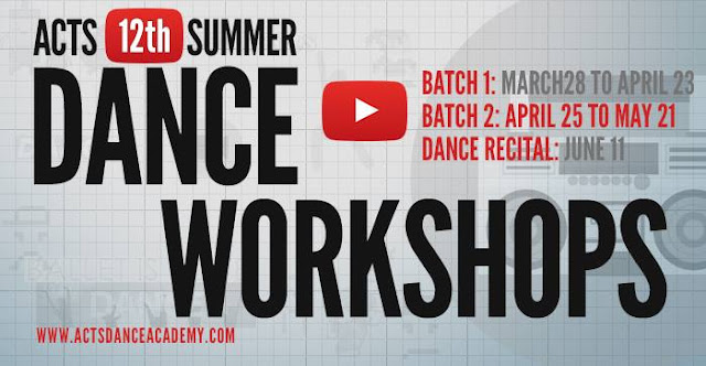 2016 Summer Workshops for Kids In Metro Manila