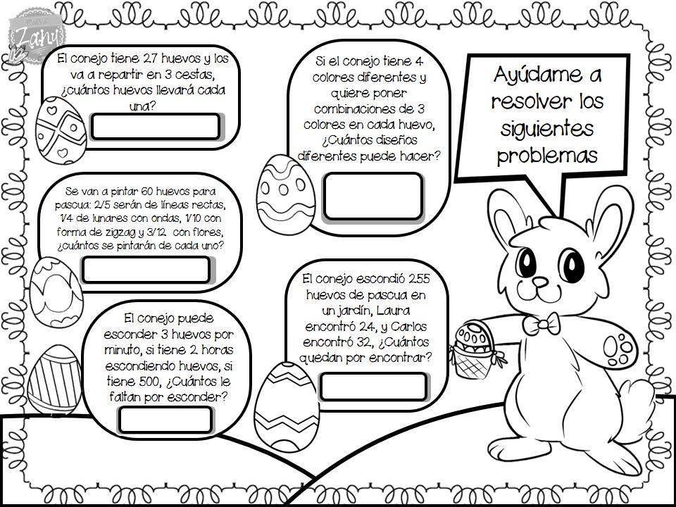 Actividades para Pascua | Materiales Zany