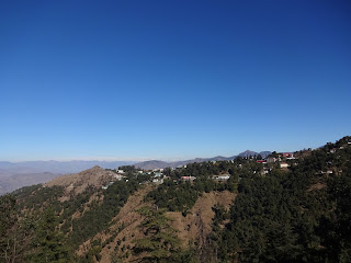 Beautiful Mussoorie hills