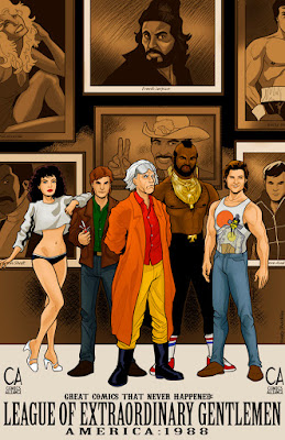 The League Of Extraordinary Gentlemen -- 80s TV version