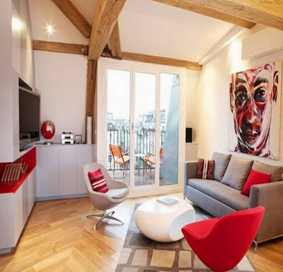 Contoh Gambar Desain Interior Ruang Keluarga Minimalis