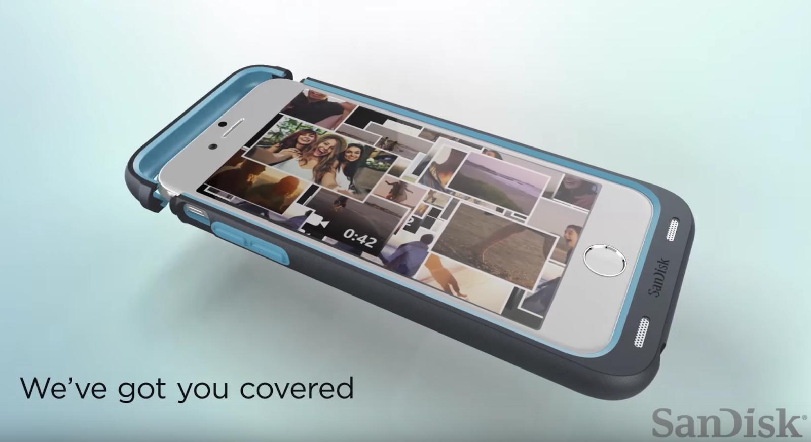custodia iphone memoria