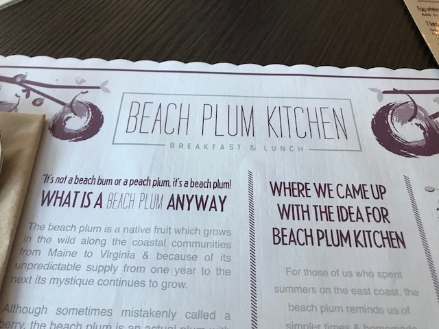 Patty and David Said...: Beach Plum Kitchen
