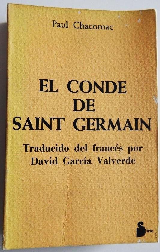 El Conde de Saint-Germain por Paul Chacornac