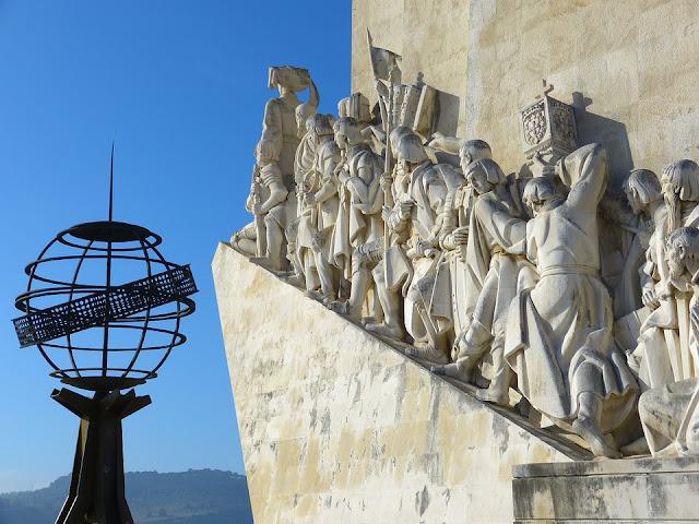 Padrão dos Descobrimentos foi construído em honra as conquistas ultramar de Portugal a partir do século XV