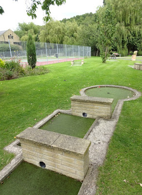 Crazy Golf at Wellholme Park in Brighouse