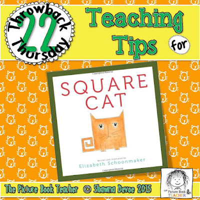 Square Cat by Elizabeth Shoomaker TBT - Teaching Tips.