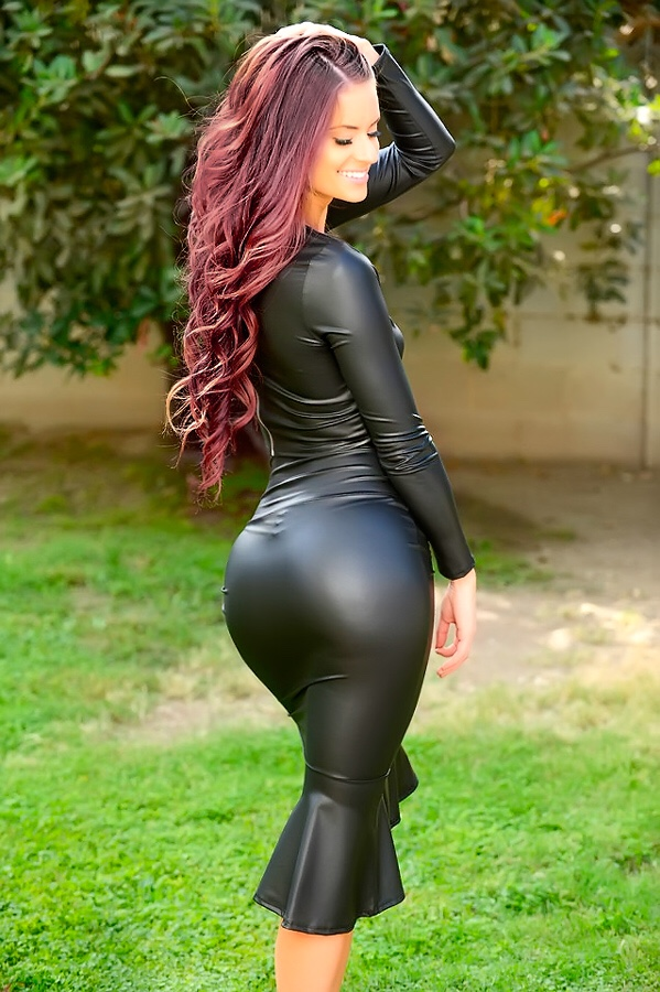 Lovely Ladies In Leather Leathershiny Ass Part 13-7578