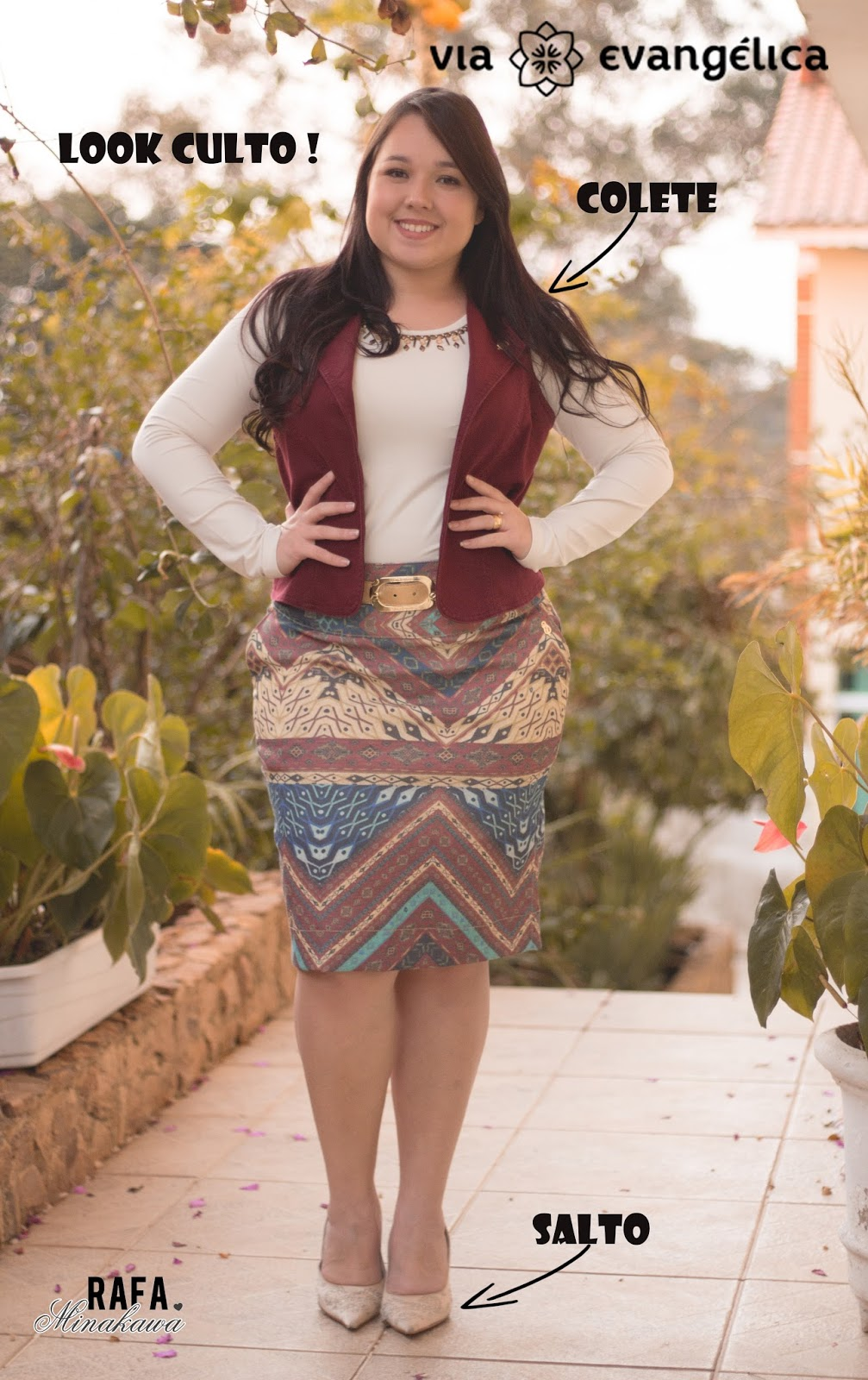 Look do trabalho e Look do Culto - Via Evangélica ♥