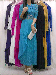 Maxi Brokat Sifon + Obi Krancang fit to L