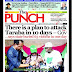NIGERIA NEWSPAPERS: TODAY'S THE PUNCH NEWSPAPER HEADLINES [2ND  FEBRUARY , 2018].