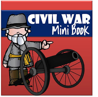 civil war mini book