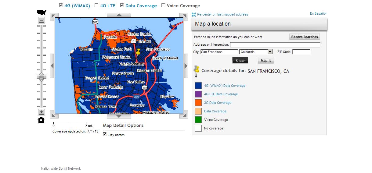Chart Nine: Using Virgin Mobile Mobile Broadband in San ...