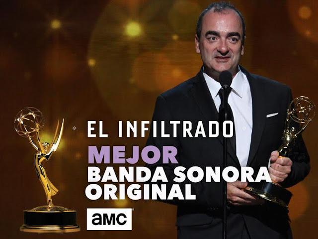El compositor español Víctor Reyes gana un Emmy por la banda sonora original de 'El infiltrado'