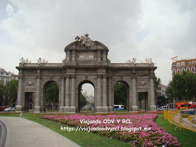 Que hacer, a donde ir, que visitar en Madrid. Puerta de Alcala