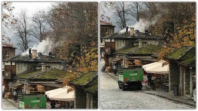 Γιάννενα: Πυρκαγιά σε εστιατόριο στο Μέτσοβο!