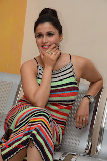 Actress Mannara Chopra Latest Pictures at Jakkanna Movie Platinum Disc Function 0104
