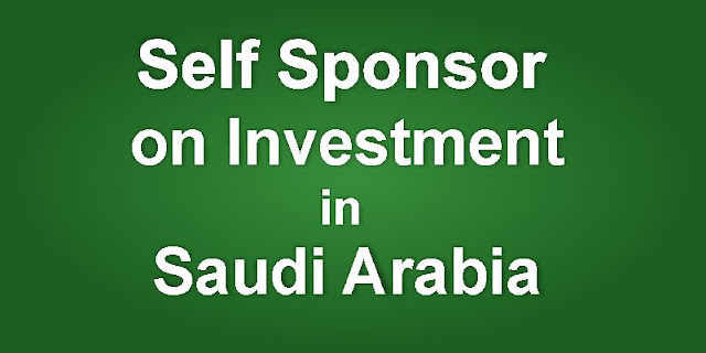 Investment for Self Sponsoring in Saudi Arabia
