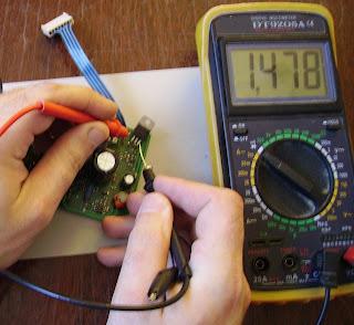 проверка транзистора на плате