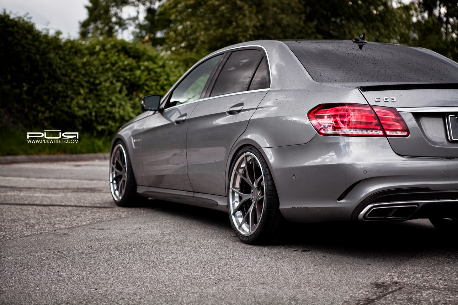 Mercedes Benz W212 E63 Amg Facelift On Pur Wheels Benztuning