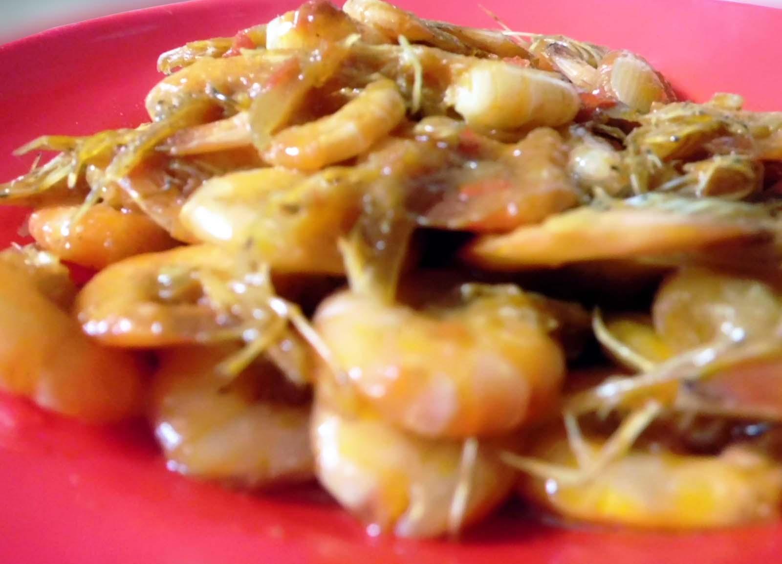 resep tumis udang saus sambal   aneka resep masakan