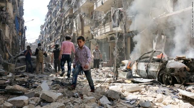 Utusan PBB: 50.000 Orang Masih Terjebak di Aleppo Timur