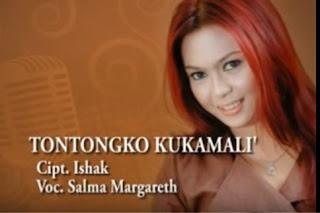 Lirik Lagu Tontongko Kukamali' (Salma Margareth)