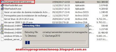 Instalar Microsoft  Exchange Server 2010 ®
