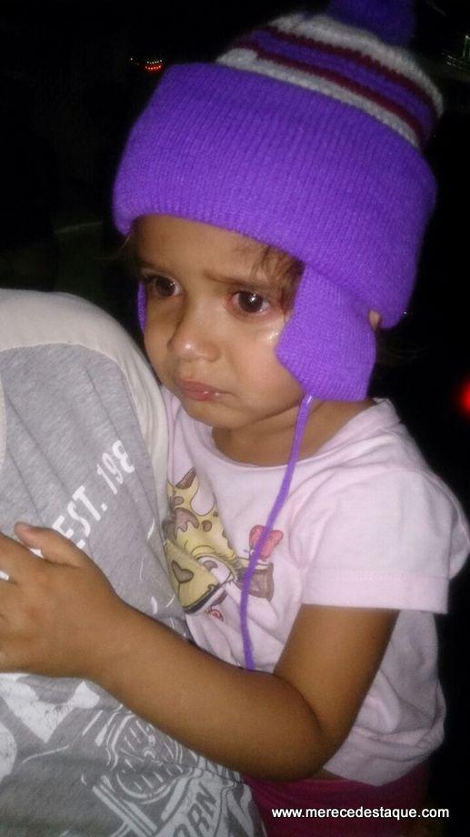 Menina de três anos que havia sido sequestrada em Panelas é encontrada pela Polícia