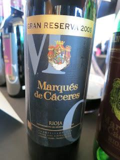 Marqués de Cáceres Gran Reserva 2009 (90 pts)