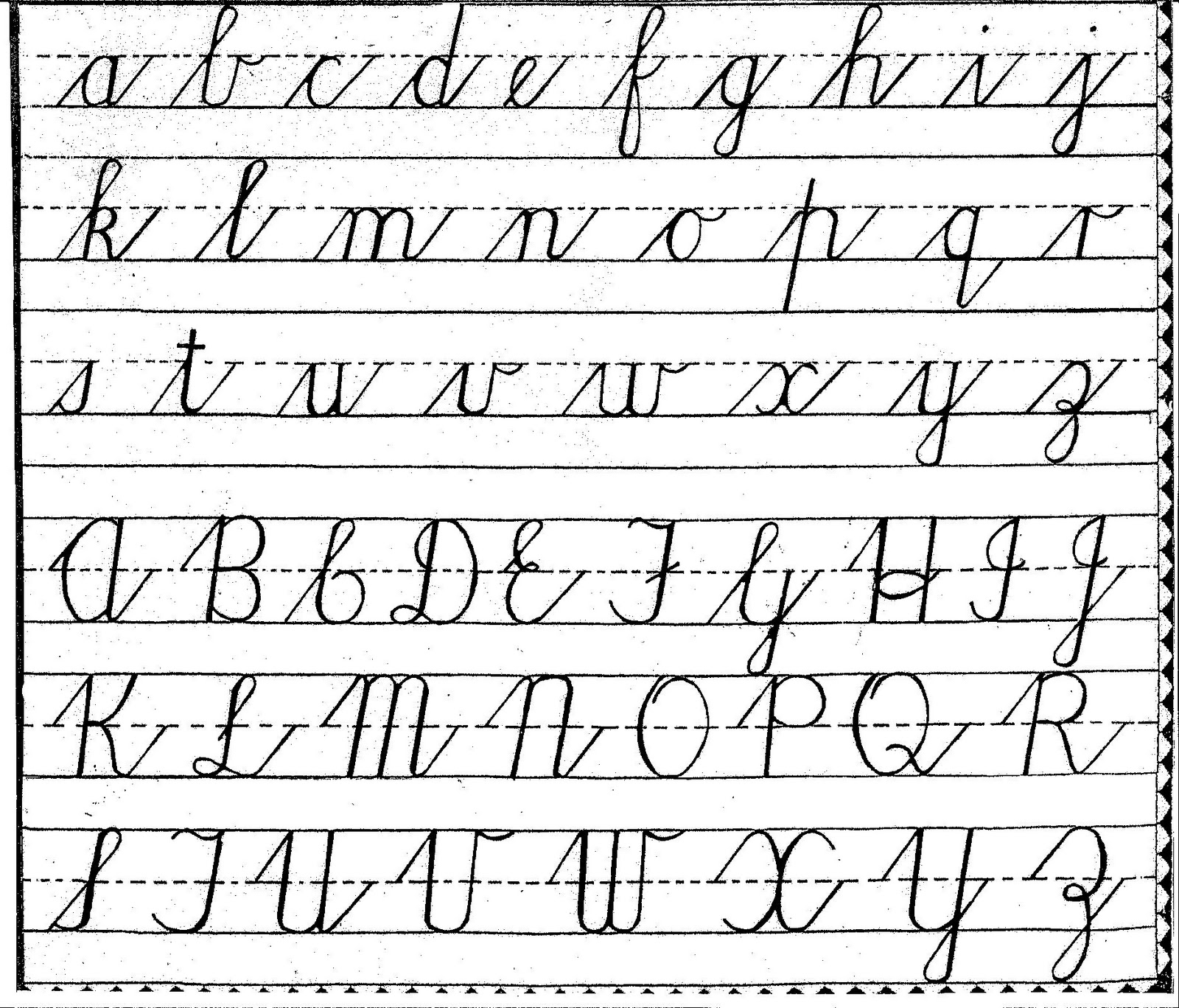 free grade 3 english writing alphabets worksheets