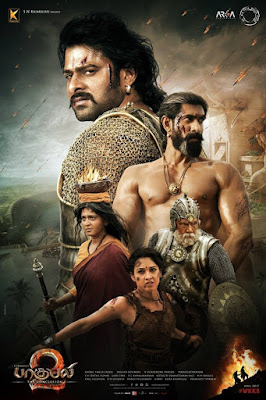 Baahubali 2 2017 Hindi Dubbed DVDRip 480p 250Mb ESub HEVC x265