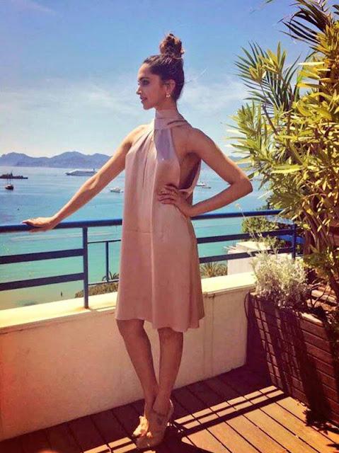 Deepika Padukone Stunning Hot at Cannes