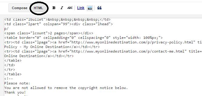 Make HTML Sitemap For Your Blog