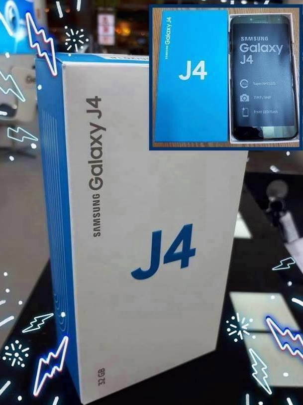 4d3a7c6e37 Smartphone Samsung Galaxy J4 Preto com 16GB Tela 5.5
