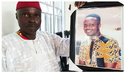 Lagos Policemen Chased My Son To Death - Father