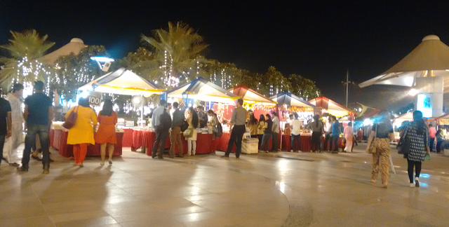 At DLF Place, Saket Diwali Bazaar