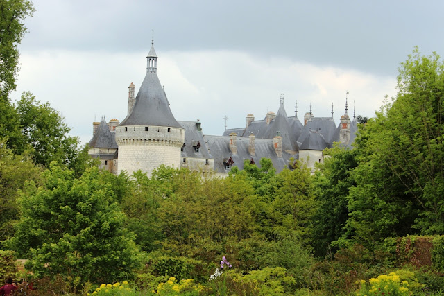 The lovely Chaumont chateau