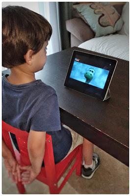 El Viaje de Arlo, iPad, dinosaurios