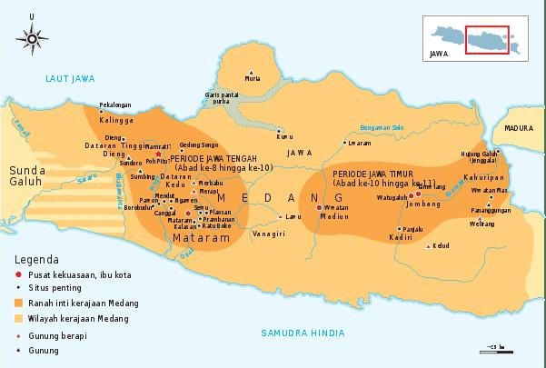 Lokasi Kerajaan