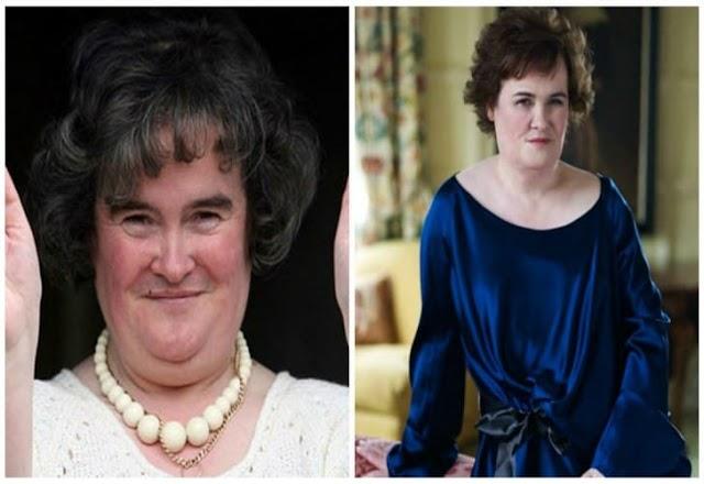 Que tal ver como está Susan  Boyle
