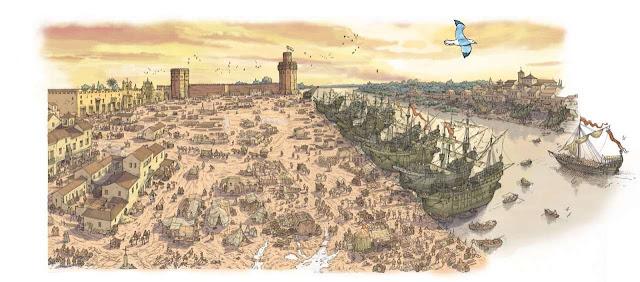 Sevilla, Puerto de Indias y economia