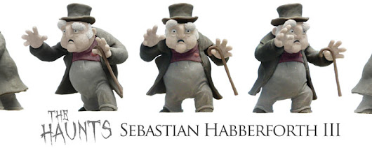Working hard... Full Body Sebastian Maquette and finally some Set Design.